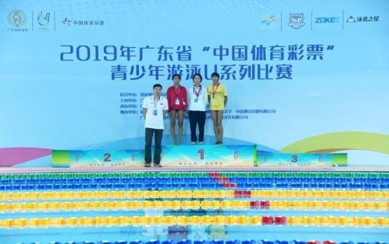 """2019年广东省""""中国体育彩票""""青少年游泳U系列赛新闻稿1044.png"""