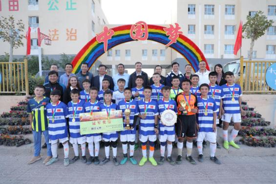广东省体育局援疆调研组赴新疆喀什调研足球援疆工作纪实