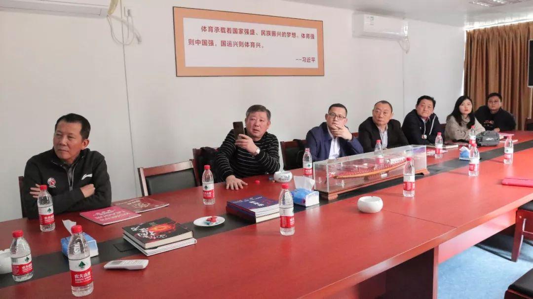 河南篮协代表团