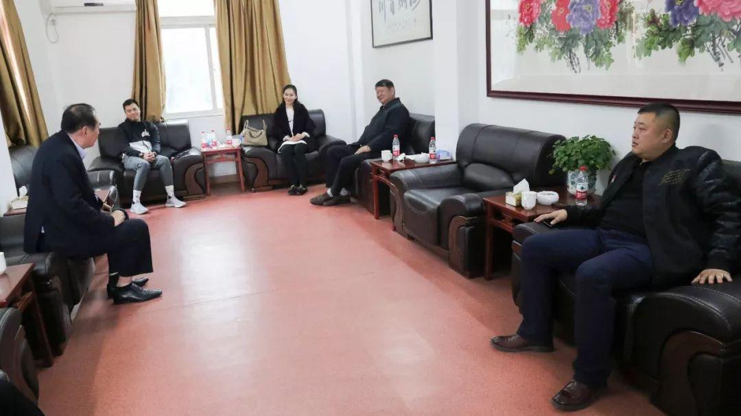 广东篮协与新疆篮协的交流会场