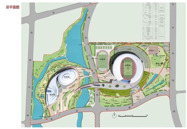 清远市奥体中心最新建设情况